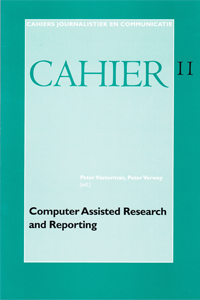 Cover Cahier Computer-Assisted Research and Reporting