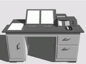Moderne tekening van Memex