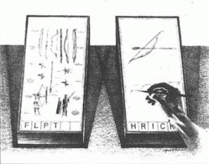 Linken met twee schermen